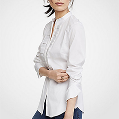 ann-taylor-white-pleated-ruffle-perfect-shirt