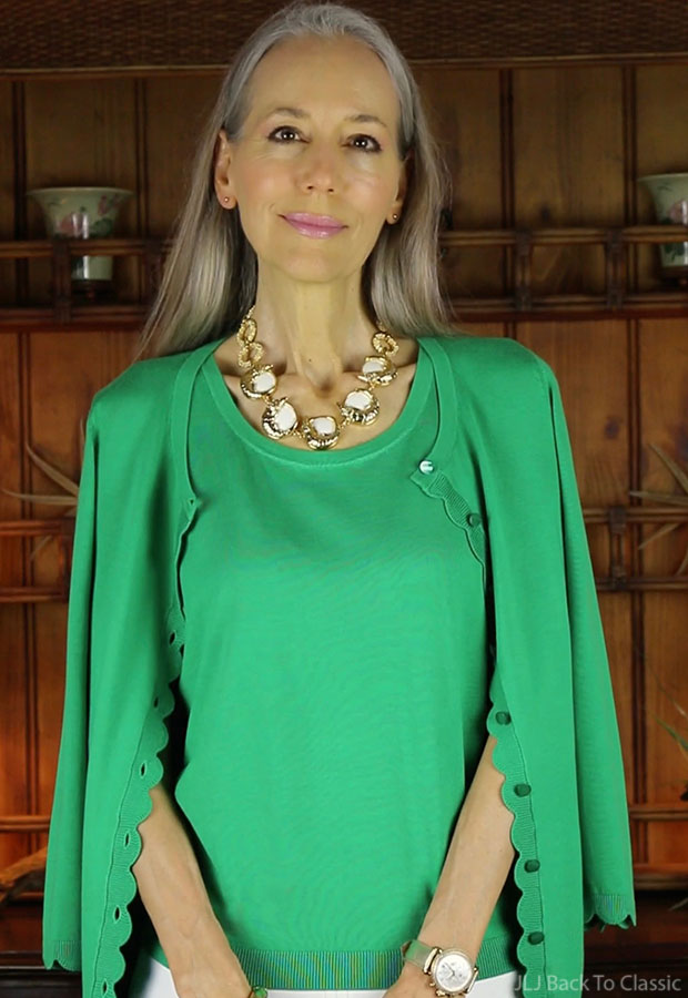 classic-fashion-talbots-charming-cardigan-lilly-pulitzer-alligator-necklace-janis-lyn-johnson