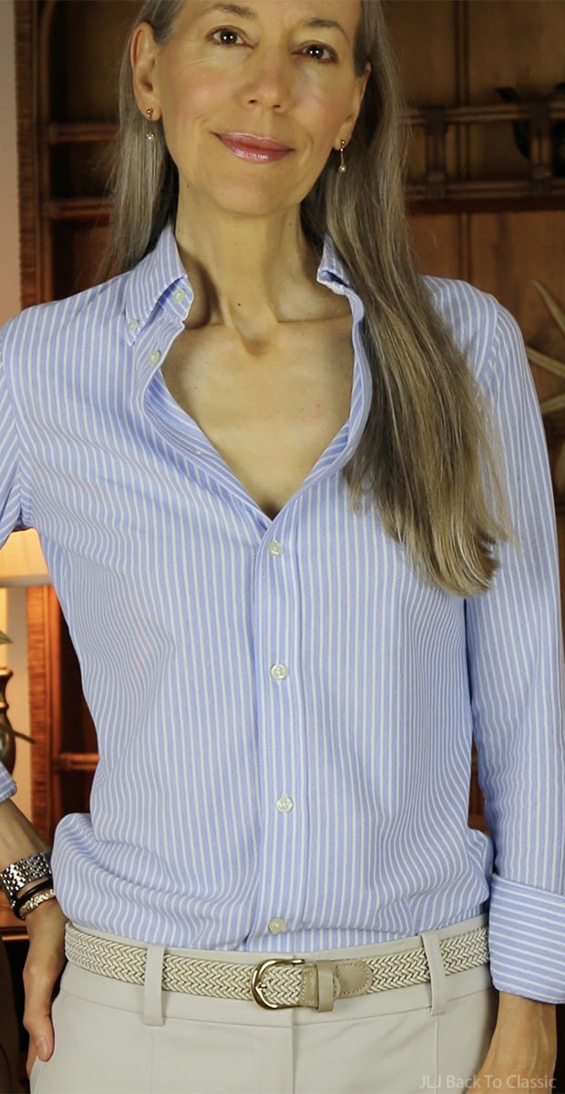 classic-fashion-over-40-polo-ralph-lauren-striped-oxford-janis-lyn-johnson