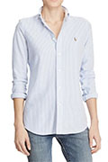 polo-ralph-lauren-womens-stripe-knit-oxford-shirt-blue copy