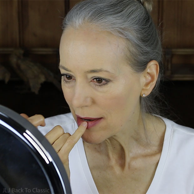 applying-rms-beauty-lip-and-cheek-color-with-finger-green-beauty-over-50