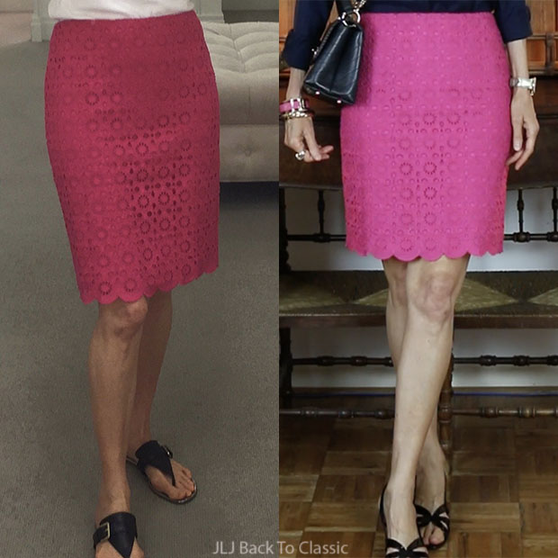 misses-and-petite-size-2-talbots-magenta-scallop-pencil-skirt