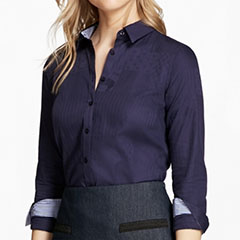 brooks-brothers-womens-navy-jacquard-button-up-shirt