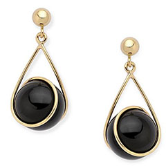 ross-simons-14k-gold-black-onyx-dangle-earrings