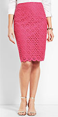 talbots-magenta-scallop-pencil-skirt