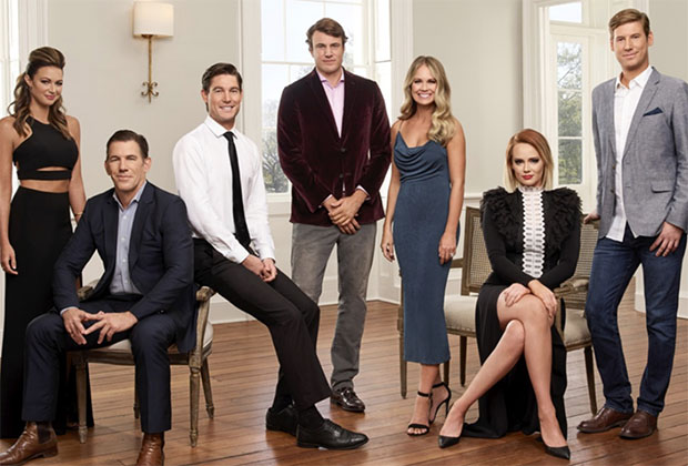 the-cast-of-bravo-tv's-southern-charm-reality-show