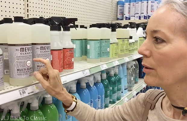 Vlog-Target-mrs.-meyers-multi-surface-cleaner-Naples-Florida-Janis-Lyn-Johnson