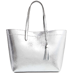 cole-haan-payson-metallic-silver-leather-tote-with-tassle