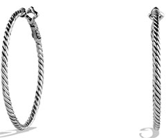 david-yurman-cable-classics-hoop-earrings