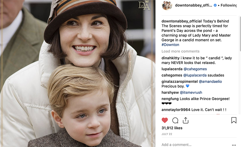 downton-abbey-instagram-michelle-dockery-as-lady-mary-crawley-coming-to-theaters