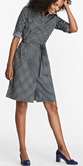brooks-brothers-navy-and-white-dot-print-cotton-sateen-shirt-dress