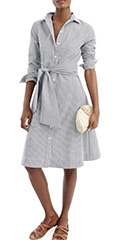j.crew-navy-and-white-maribou-stripe-cotton-shirtdress