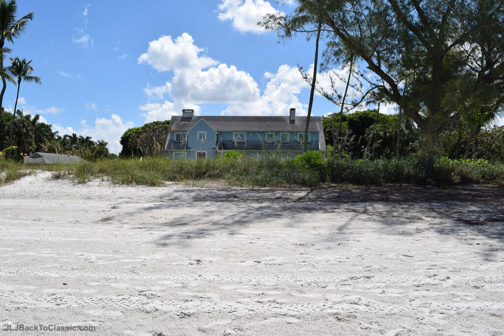 1930s-Colonial-Beach-House-Viewed-From-Beach-Naples-Florida