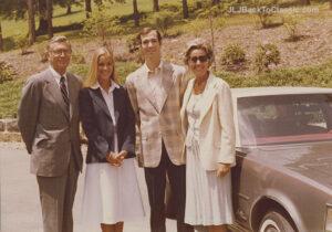 preppy-navy-blazer-white-a-line-skirt-hs-graduation-outfit-pgh-pa-1978