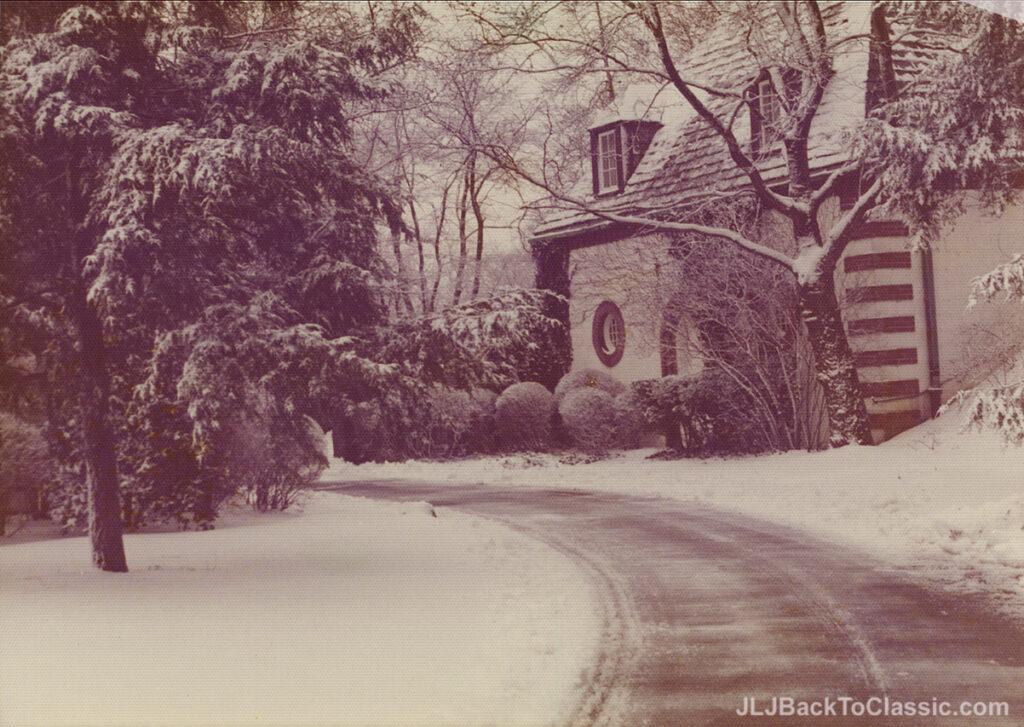 1928-Brandon-Smith-Tudor-Pgh-PA-Entrance-Winter-1972