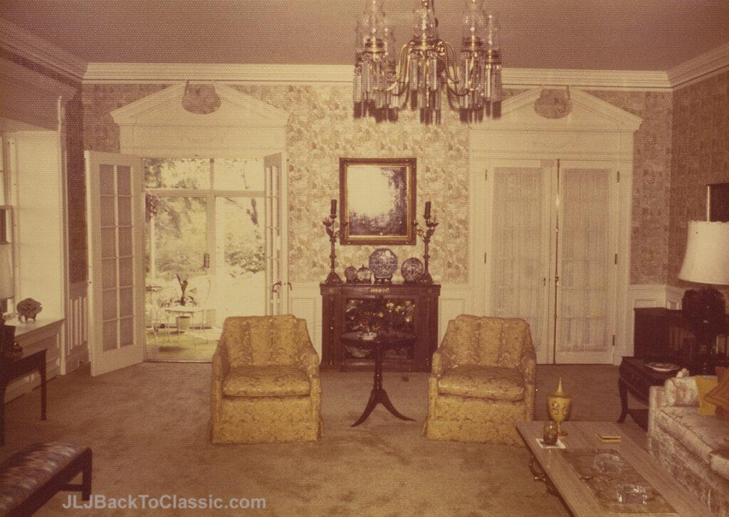 1928-Brandon-Smith-Tudor-Living-Room-View-To-Porch-Pgh-PA-1972