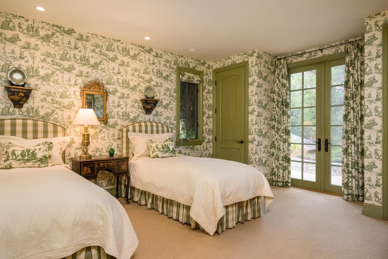 Classic-Carmel-CA-Bungalow-Bedroom