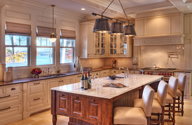 Kitchen-Shingle-Style-House-By-Stephen-Fuller