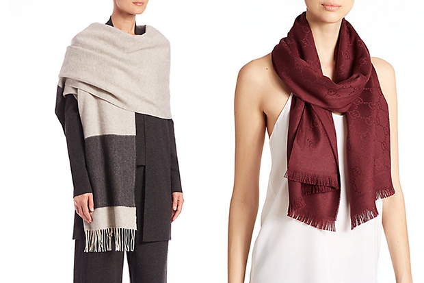 L-To-R-Eileen-Fisher-Scarf-Gucci-Scarf-At-Saks-Fifth-Avenue