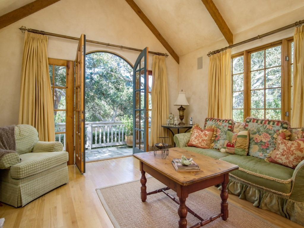 Living-Room-Cottage-At-Monte-Verde-And-11th-Carmel-By-the-Sea