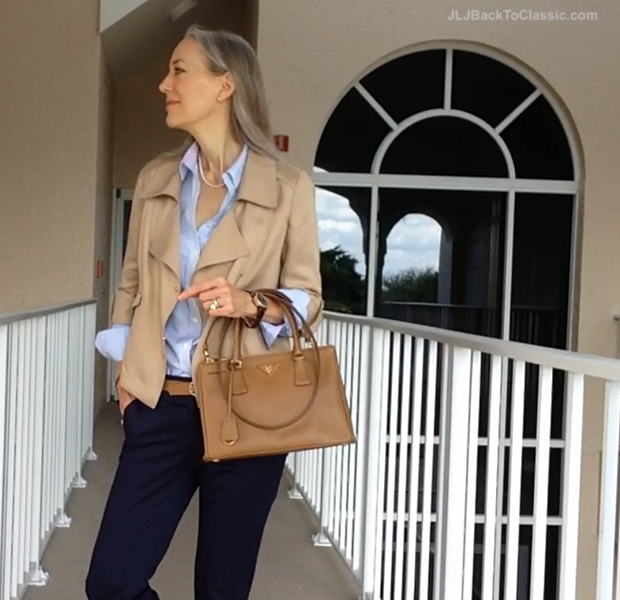 Classic-Fashion-Over-40-Prada-Double-Zip-Tote-Ann-Taylor-Jacket
