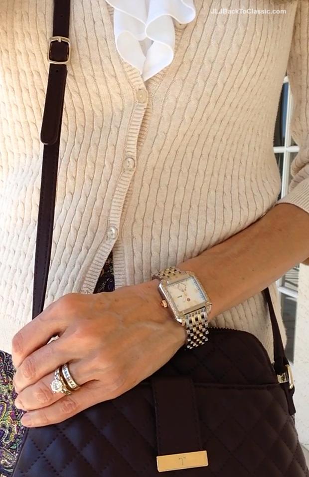 Michele-Deco-Diamond-Two-Tone-Watch-Talbots-Bag