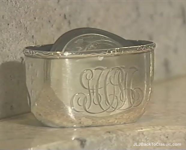 Monogrammed-Sterling-Silver-Turned-Kitchen-Soap-Dish-JLJBackToClassic.com-
