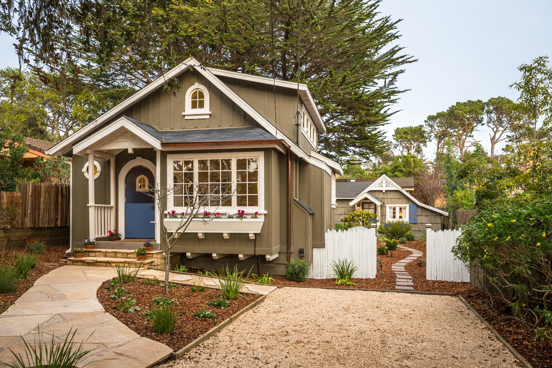 An Updated Storybook Jewel In Carmel-By-The-Sea, California