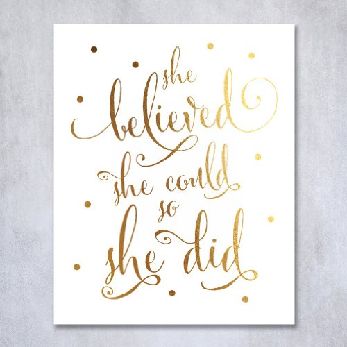 She-Believed-She-Could-So-She-Did-Wall-Art-Amazon