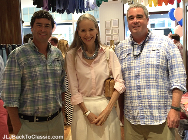 Vineyard-Vines-Founders-Ian-And-Shep-With-JLJBackToClassic.com-Blogger-Janis-Lyn-Johnson