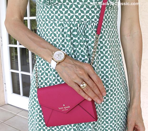 Classic-Fashion-Over-40-Kate-Spade-Pink-Crossbody-Michele-CSX-Watch