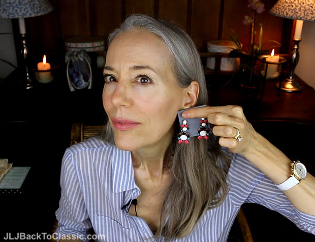 Classic.Fashion-Over-40-Over-50-Talbots-Drop-Earrings