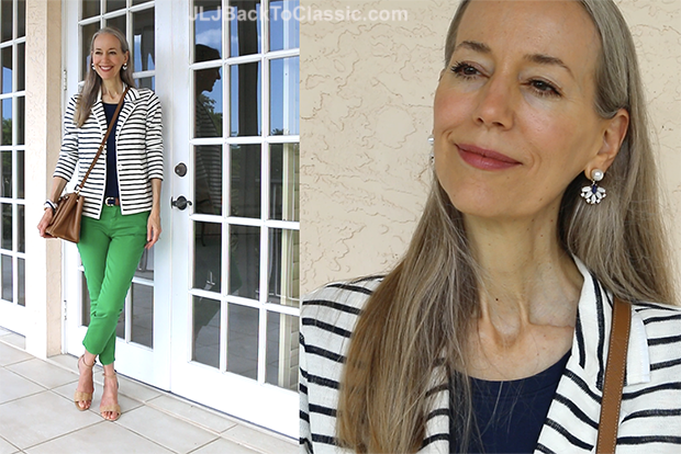 Janis-Lyn-Johnson-Classic-Fashion-Over-40-Over-50-Striped-Navy-White-Blazer-Blog