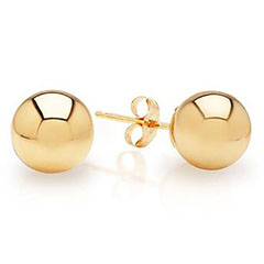 14k-Gold-Ball-Stud-Earrings-Amazon