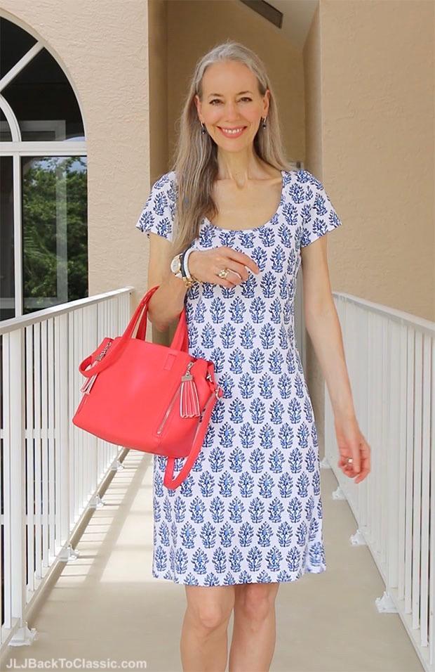 Classic-Fashion-Over-40-50-J.-McLaughlin-T-Shirt-Dress