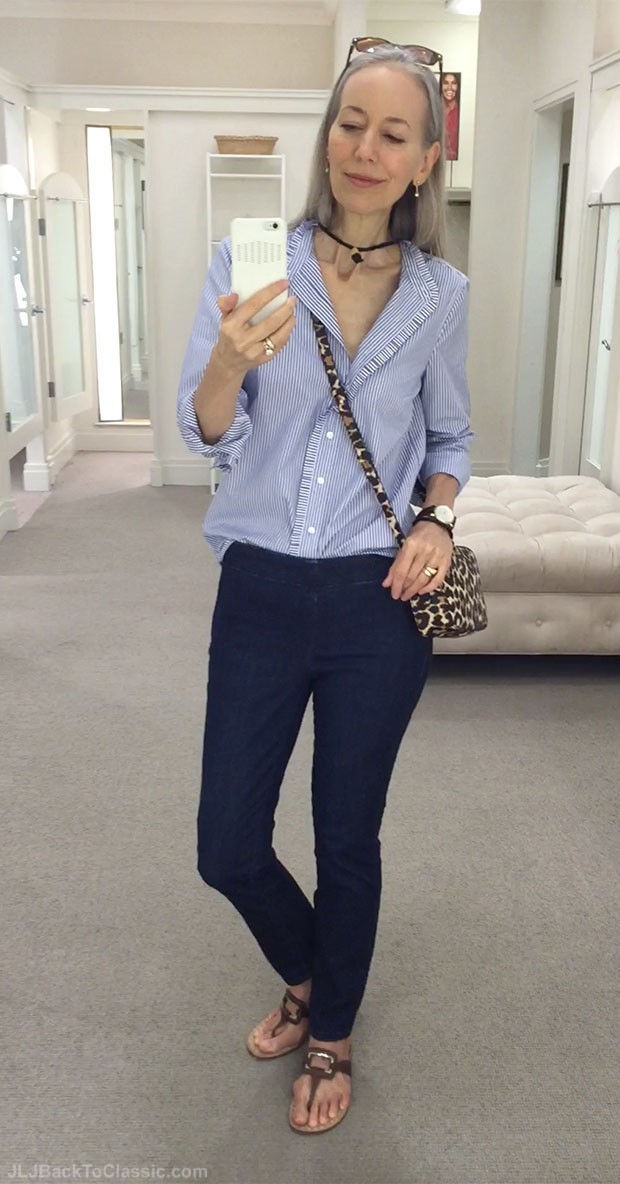classic-fashion-over-40-j-crew-stripe-shirt-leopard-crossbody-talbots-jeggings