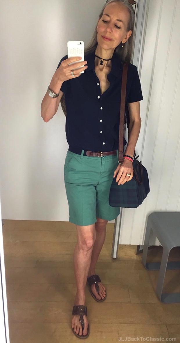classic-fashion-over-40-cutter-buck-shirt-j-crew-bermudas-plaid-bag