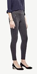 ann-taylor-ponte-zip-leggings-charcoal-grey-front