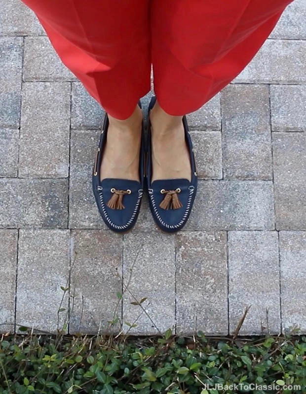 Classic-Fashion-Over-40-Talbots-Coral-Perfect-Crop-Navy-Sperry-Topsiders