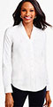 classic-fashion-40-plus-talbots-ruffle-v-neck-blouse