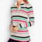 Classic-Fashion-Over-40-50-Talbots-Bright-Stripes-Pullover