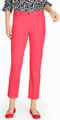 Classic-Fashion-Over-40-50-Talbots-Perfect-Crop-Coral