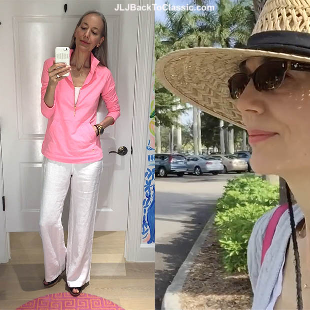 c89f26c5eff8 (Vlog) Classic Fashion Over 40/50: Lilly Pulitzer Spring-Summer Try Ons;  Plus My OOTD