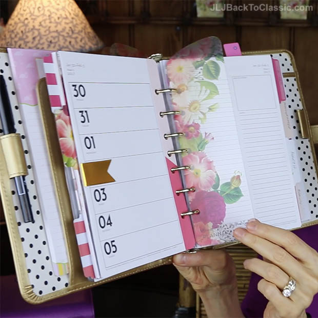 Classic-Home-Office-Organization-Franklin-Covey-Planner-Love-2017-Botanical-5b