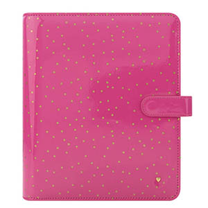 Franklin-Covey-Planner-Love-Pink-Confetti-Simulated-Leather-Binder
