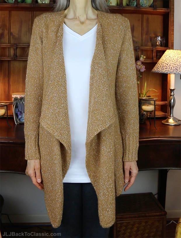 Classic-Fashion-Over-40-50-Volcom-Wrap-Cardigan