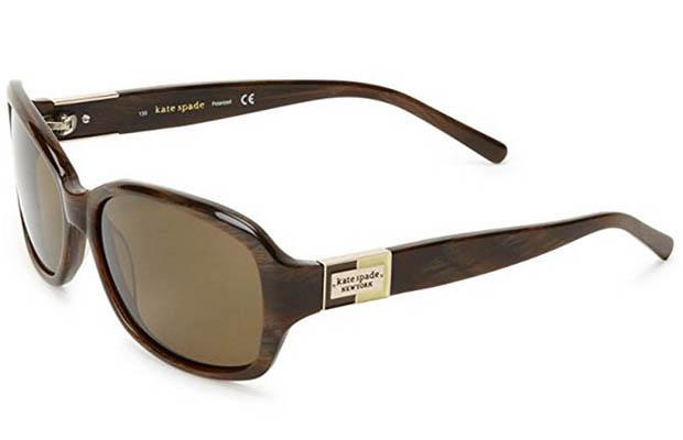 Classic-Eyewear-Kate-Spade Annika-Brown-Horn-56mm-Sunglasses