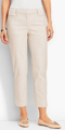 Classic-Fashion-Over-40-50-Talbots-Perfect-Crop-Sand-Rock