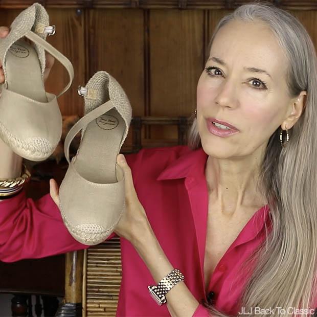 Classic-Fashion-Over-40-50-Toni-Pons-Caldes-Linen-Wedge-Sandle-Stone