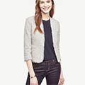 Classic-Fashion-Over-40-Ann-Taylor-Gray-Marled-Bolero-Jacket